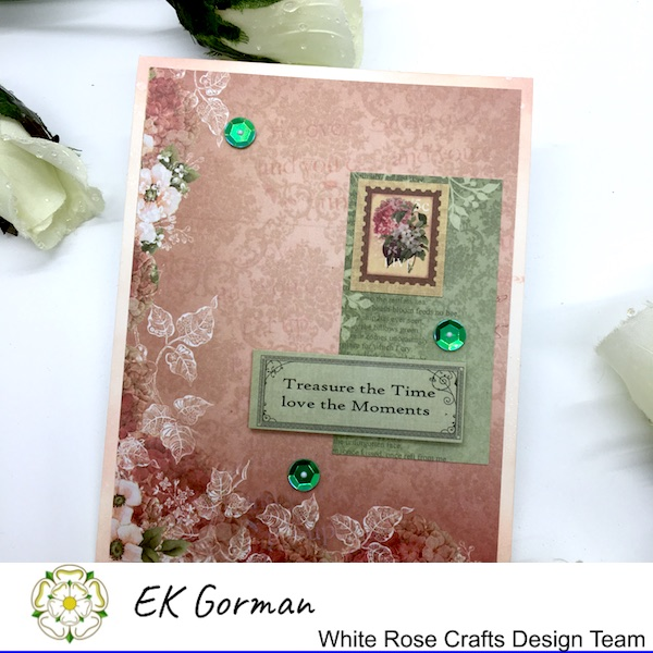 EK Gorman, White Rose Crafts, September Rose FFC 2 g