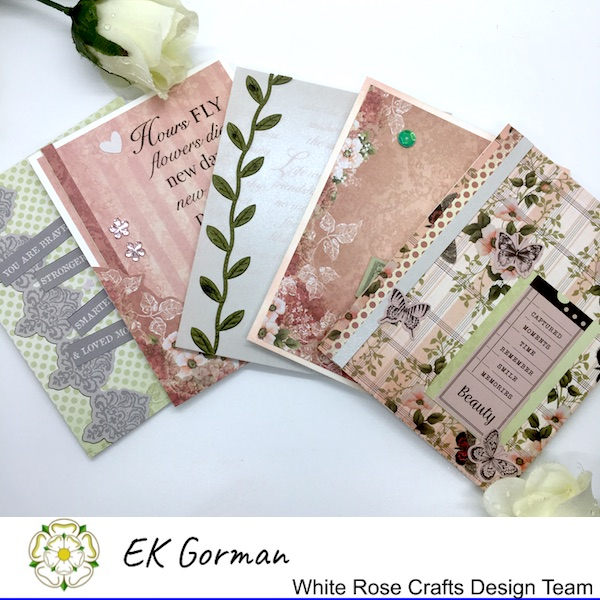 EK Gorman, White Rose Crafts, September Rose FFC 2 k