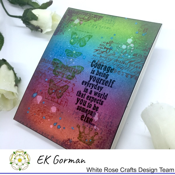 EK Gorman, White Rose Crafts, Tim Holtz b