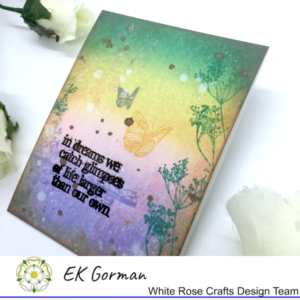 EK Gorman, White Rose Crafts, Tim Holtz e