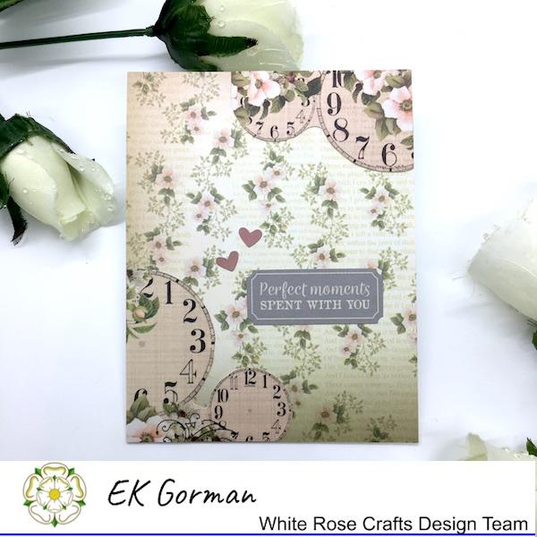 EK Gorman, White Rose Crafts, Vintage Rose FFC1 c