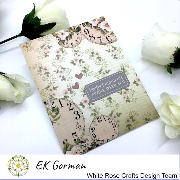 EK Gorman, White Rose Crafts, Vintage Rose FFC1 d