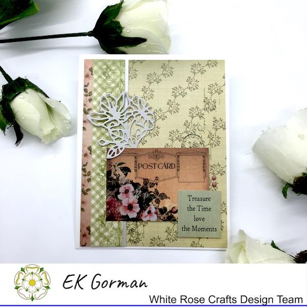 EK Gorman, White Rose Crafts, Vintage Rose FFC1 e