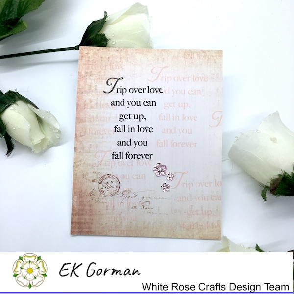 EK Gorman, White Rose Crafts, Vintage Rose FFC1 g