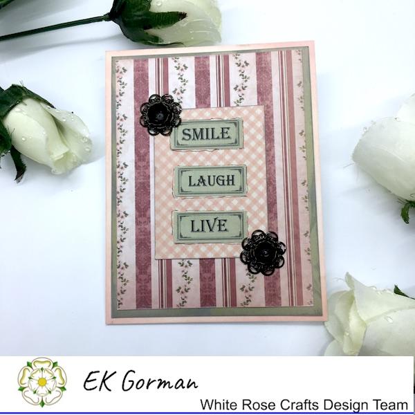 EK Gorman, White Rose Crafts, Vintage Rose FFC1 i