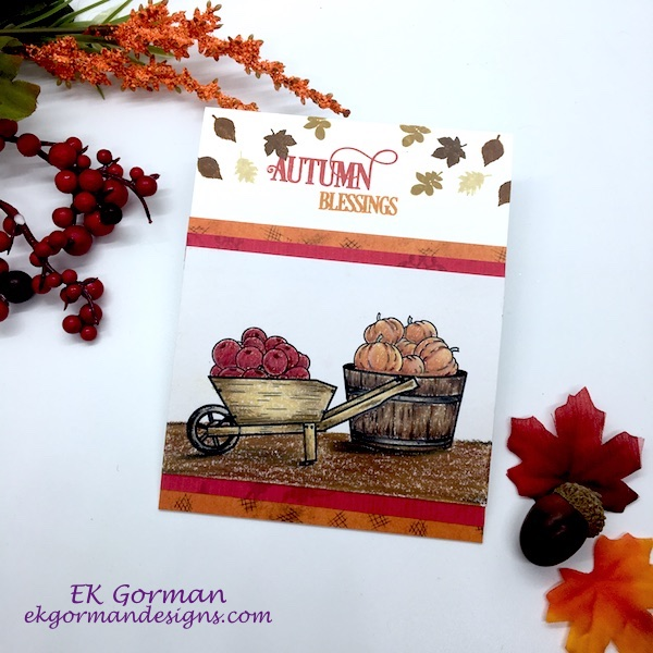 EK Gorman, Craft Collab Fall Colors a