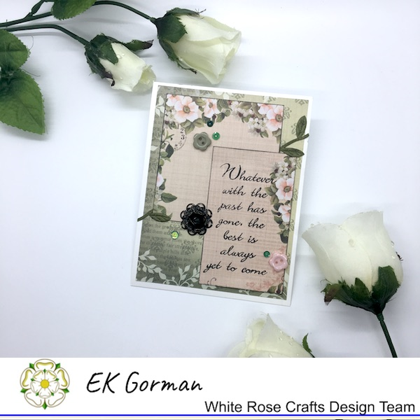 EK Gorman, White Rose Crafts, September Sketch Challenge c