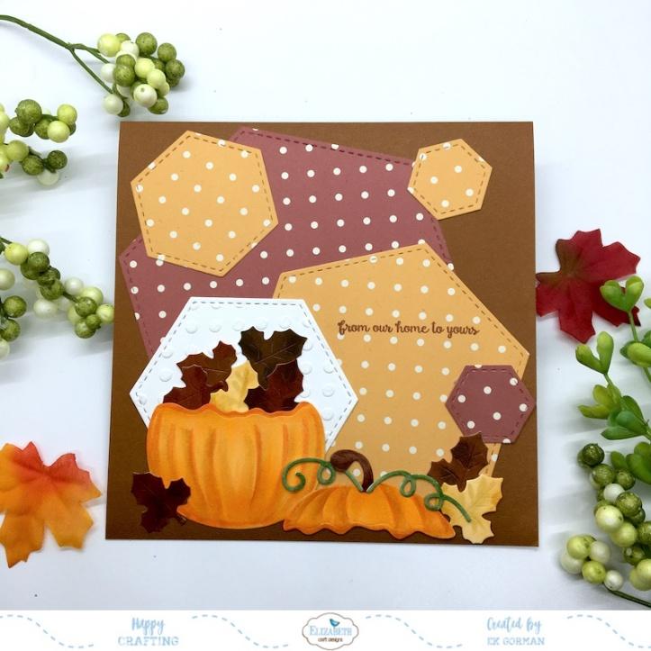 EK Gorman, Elizabeth Craft Designs, Autumn Pumpkin a