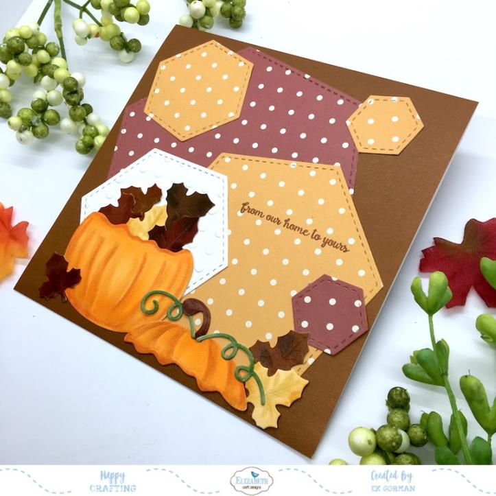 EK Gorman, Elizabeth Craft Designs, Autumn Pumpkin b