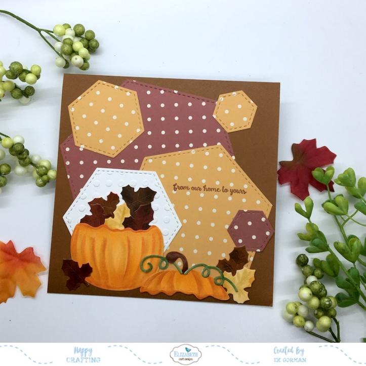 EK Gorman, Elizabeth Craft Designs, Autumn Pumpkin c