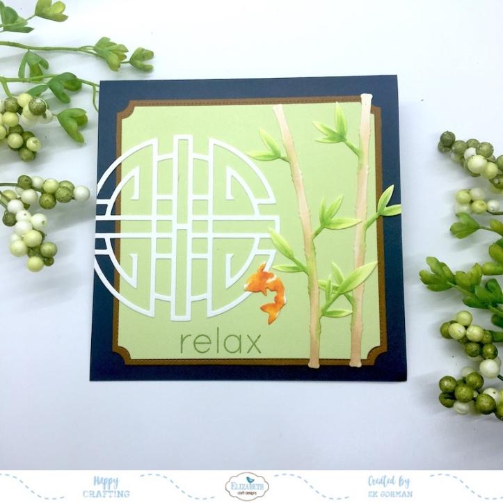 EK Gorman, Elizabeth Craft Designs, Relax a