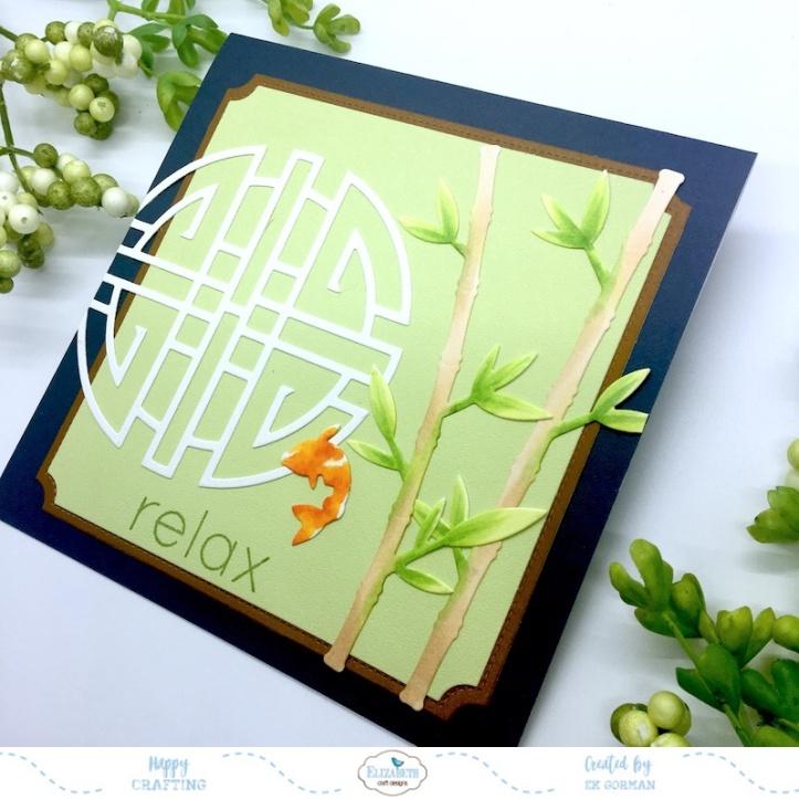 EK Gorman, Elizabeth Craft Designs, Relax b