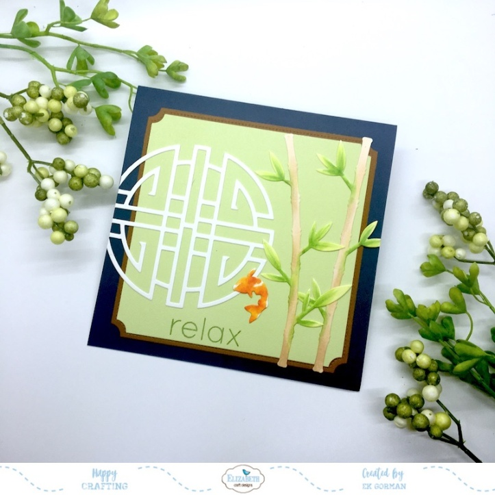 EK Gorman, Elizabeth Craft Designs, Relax c