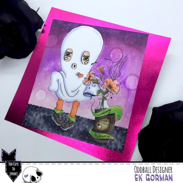 EK Gorman, Oddball Art, CCC73 b