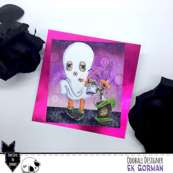 EK Gorman, Oddball Art, CCC73 c