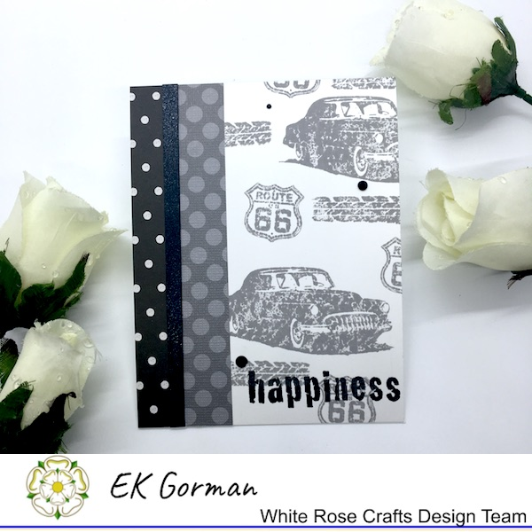 EK Gorman, WHite Rose Crafts, Make Mine Monochrome 5FC1 c