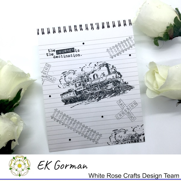 EK Gorman, WHite Rose Crafts, Make Mine Monochrome 5FC1 i