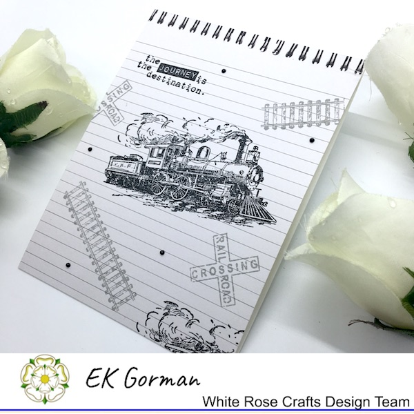 EK Gorman, WHite Rose Crafts, Make Mine Monochrome 5FC1 j