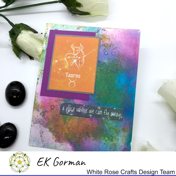 EK Gorman, White Rose Crafts mixed media scrapberry c