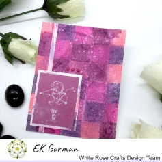 EK Gorman, White Rose Crafts mixed media scrapberry f