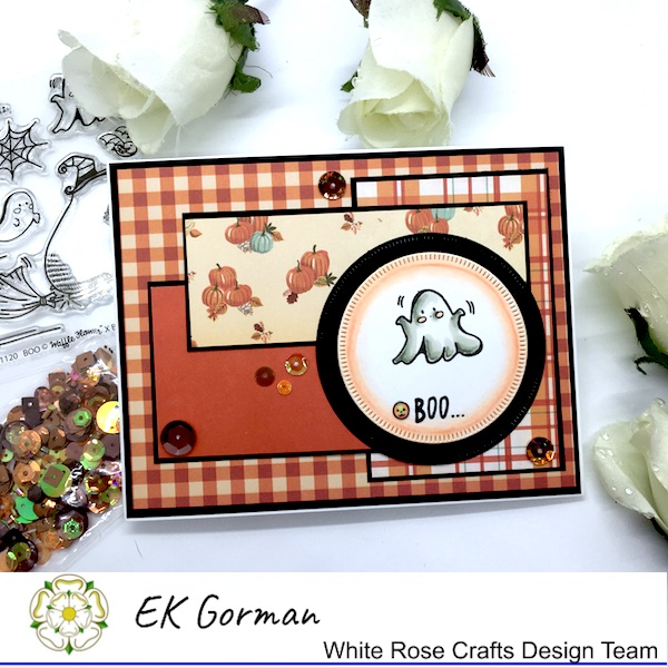 EK Gorman, White Rose Crafts, October Sketch Challenge a