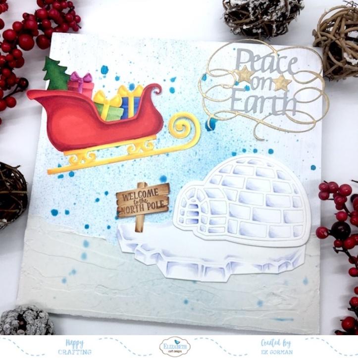 EK Gorman, Elizabeth Craft Designs, Holiday crafts a