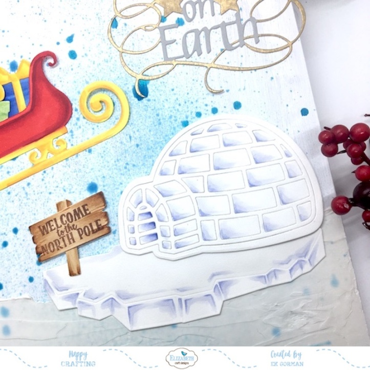 EK Gorman, Elizabeth Craft Designs, Holiday crafts b
