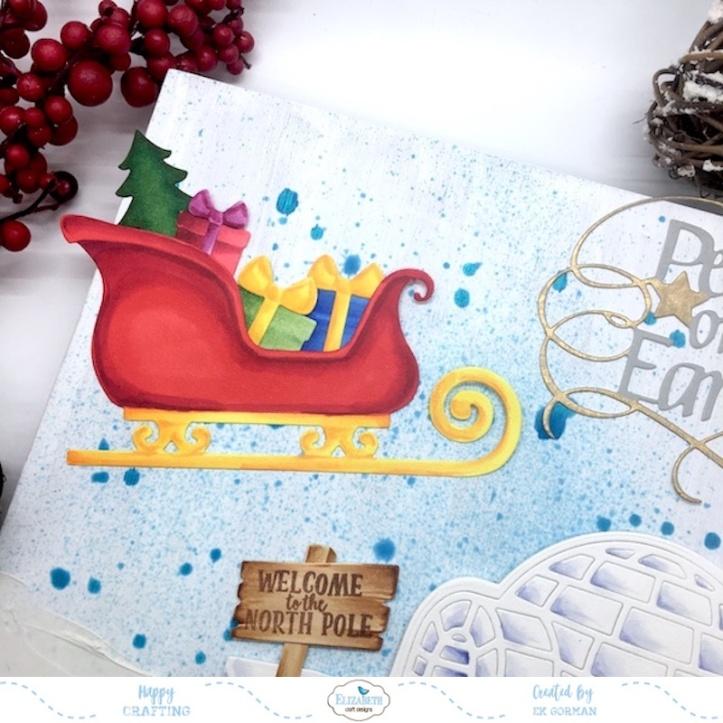 EK Gorman, Elizabeth Craft Designs, Holiday crafts c