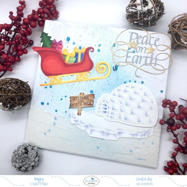 EK Gorman, Elizabeth Craft Designs, Holiday crafts d