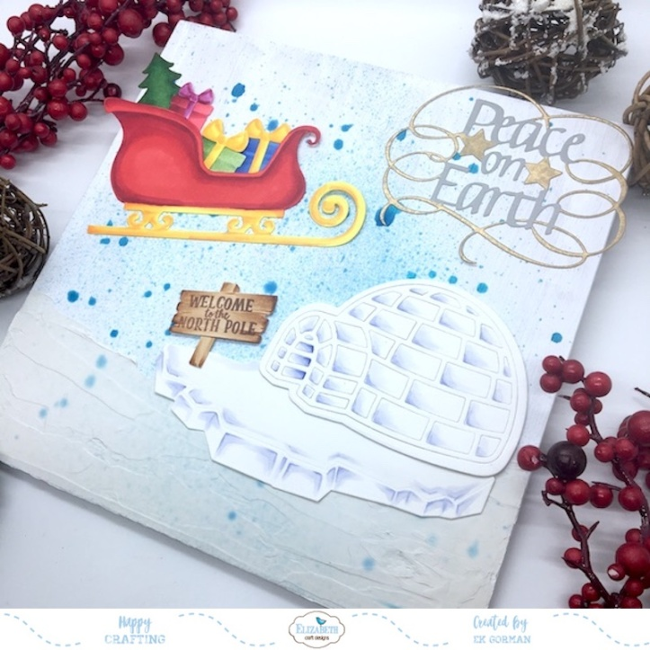 EK Gorman, Elizabeth Craft Designs, Holiday crafts e