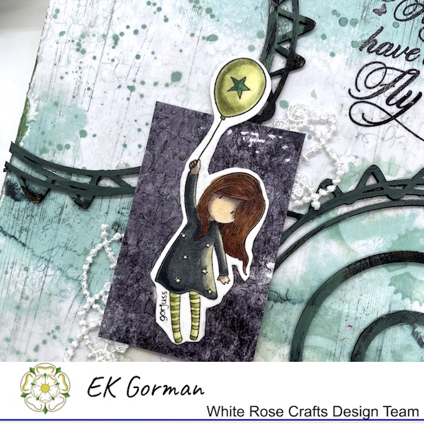 EK Gorman, WHite Rose Crafts, Mixed Media Fly b