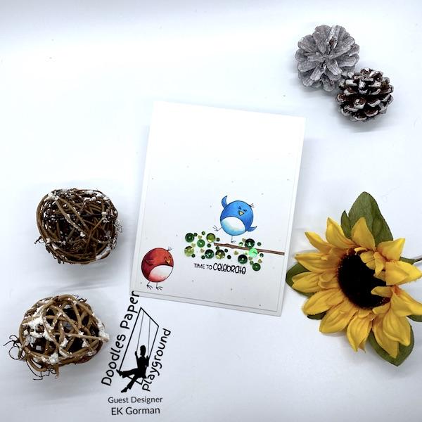 EK Gorman, Doodles Paper Playground, Test Your Luck c