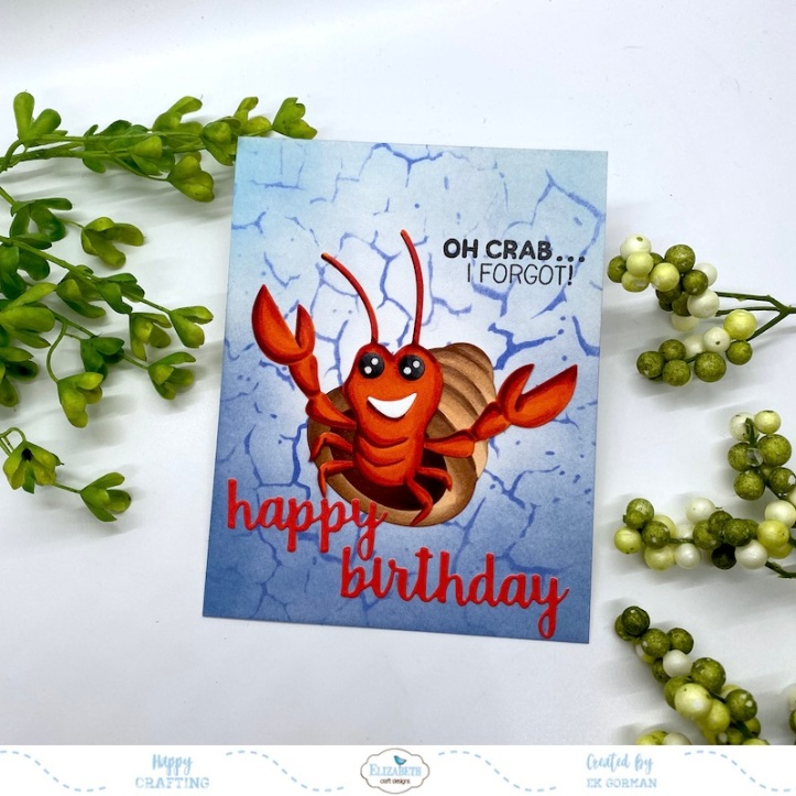 EK Gorman, Elizabeth Craft Designs, Crab a