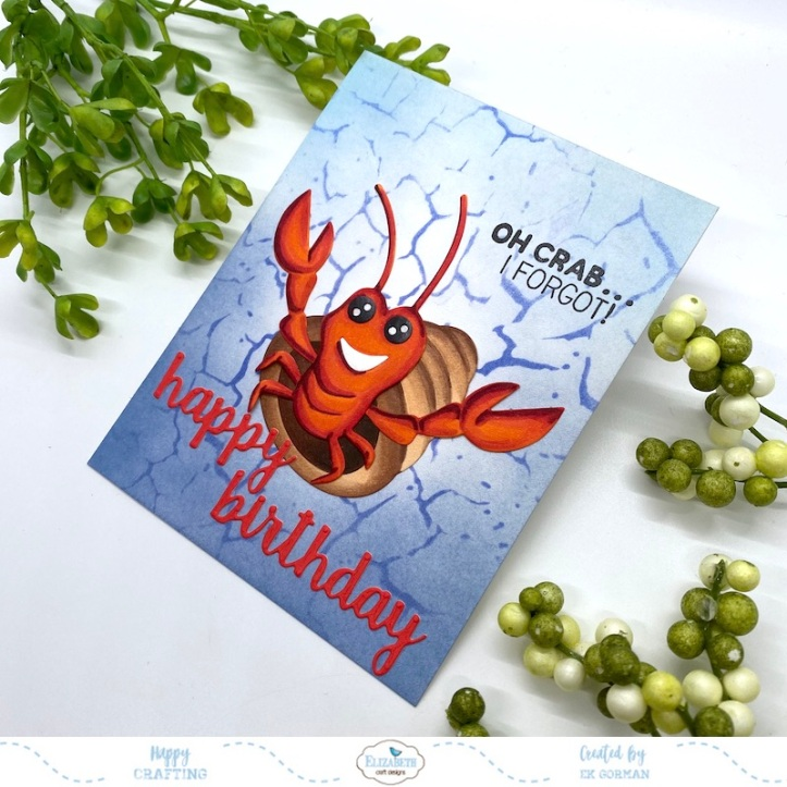 EK Gorman, Elizabeth Craft Designs, Crab b