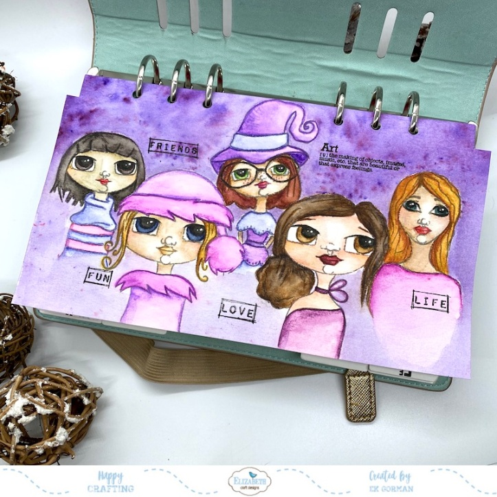 EK Gorman, Elizabeth Craft Designs, Ladies cover e