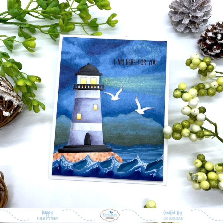 EK Gorman, Elizabeth Craft Designs, Lighthouse a