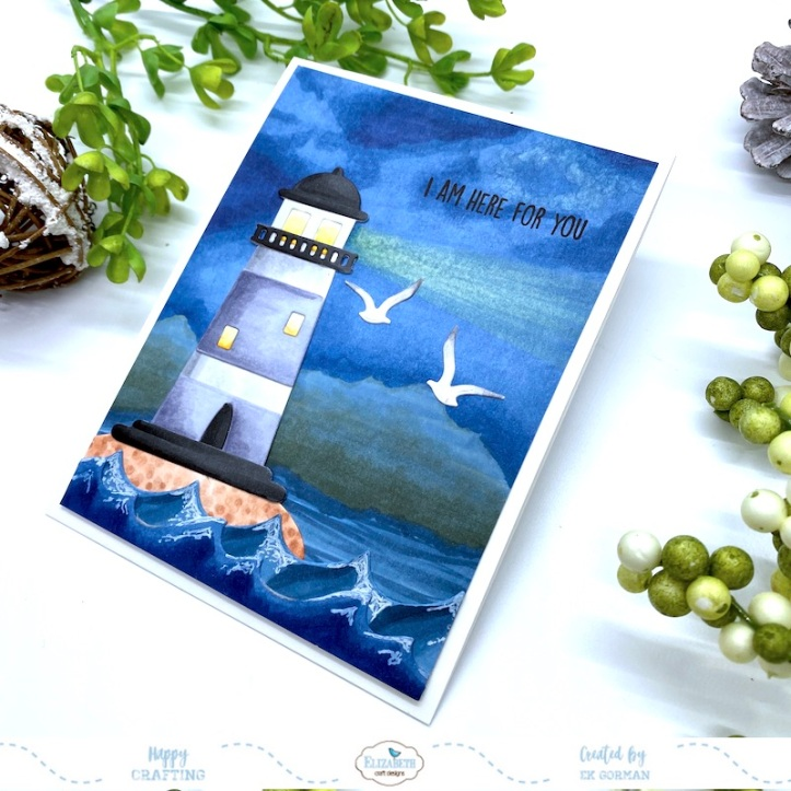 EK Gorman, Elizabeth Craft Designs, Lighthouse b