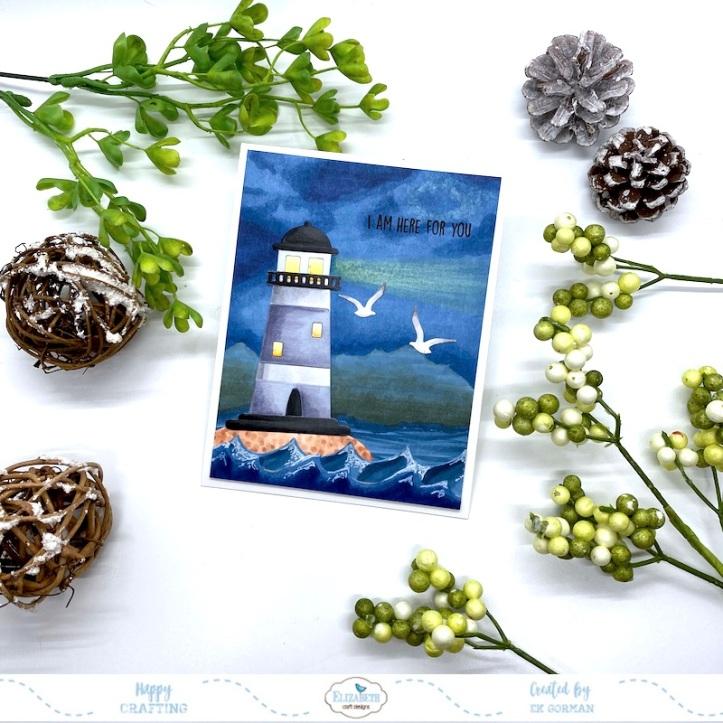 EK Gorman, Elizabeth Craft Designs, Lighthouse c