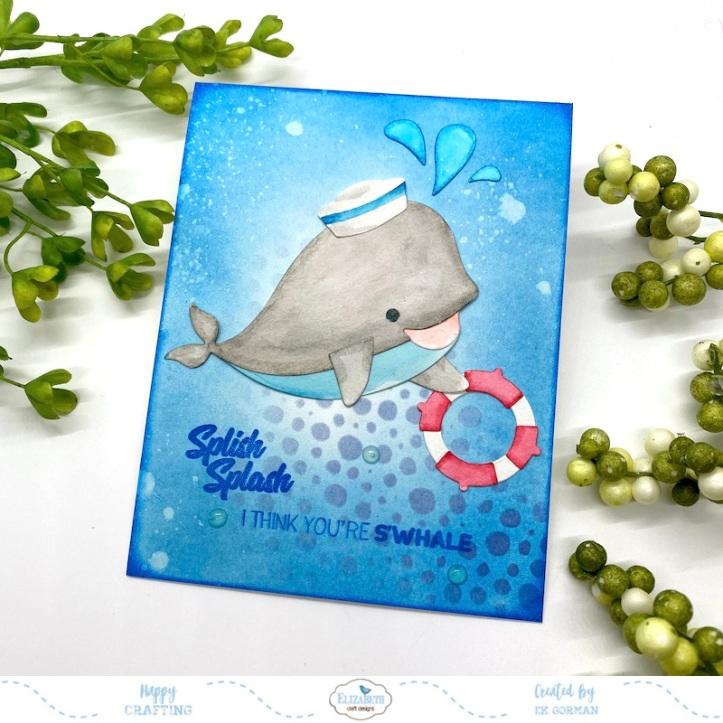 EK Gorman, Elizabeth Craft Designs, Whale a