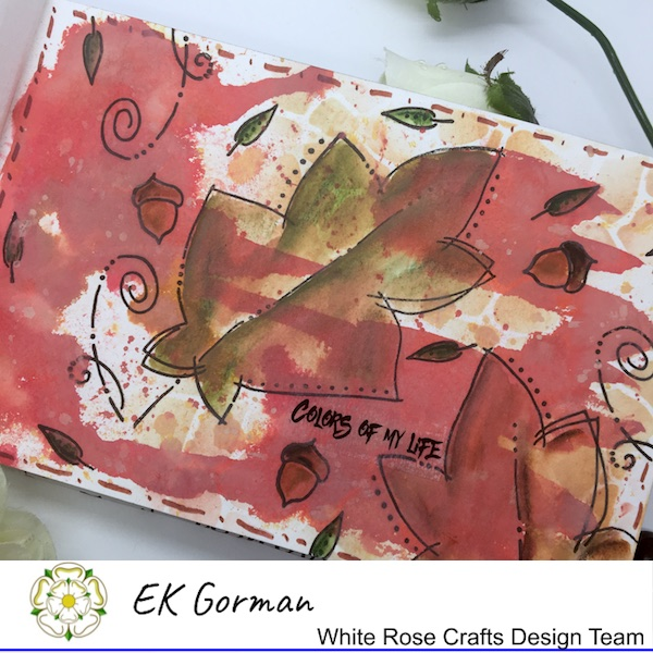 EK Gorman, White Rose Crafts, Art Journal 2 b