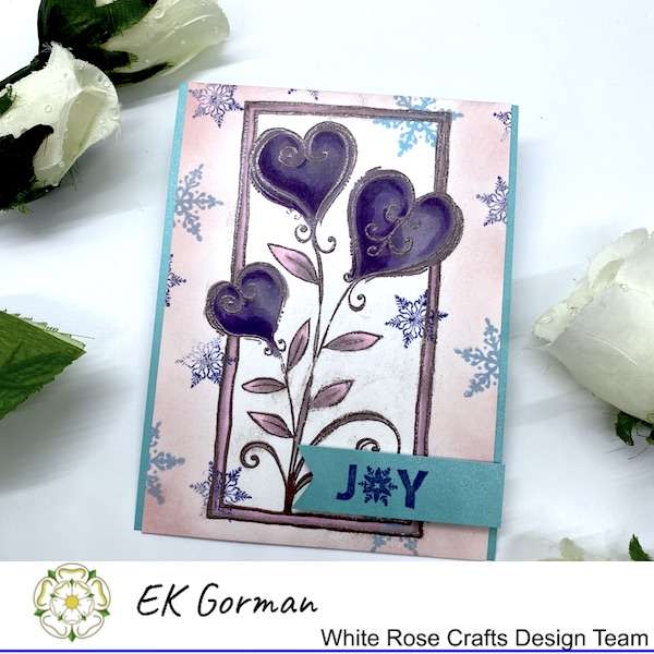 EK Gorman, White Rose Crafts, January Moodboard a