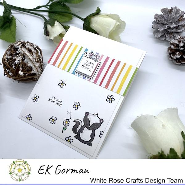 EK Gorman, White Rose Crafts, Lawn Fawn d