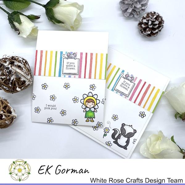EK Gorman, White Rose Crafts, Lawn Fawn e